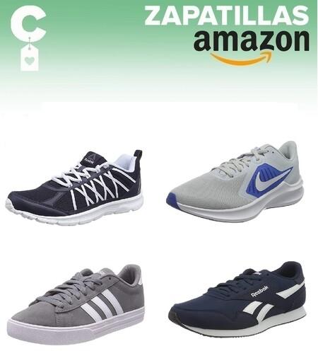 Chollos en tallas sueltas de  zapatillas Nike, Reebok y Adidas por menos de 40 euros en Amazon