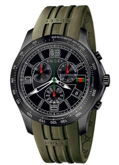 Reloj con cronógrafo de Gucci