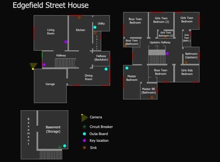 Mapa Edgefield