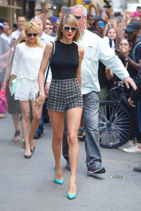 Taylor Swift Hot Pants Street Style 2