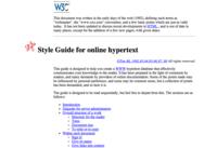 W3C (1998)