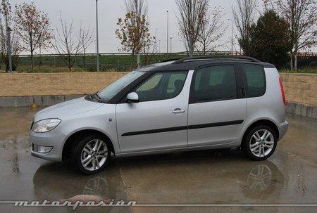 Škoda Roomster, prueba (conducción y dinámica)
