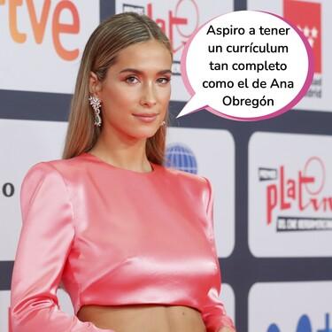 María Pombo en la alfombra roja de los Premios Platino 2021: esta es la famosa serie en la que podría haber debutado como actriz tres sesenta