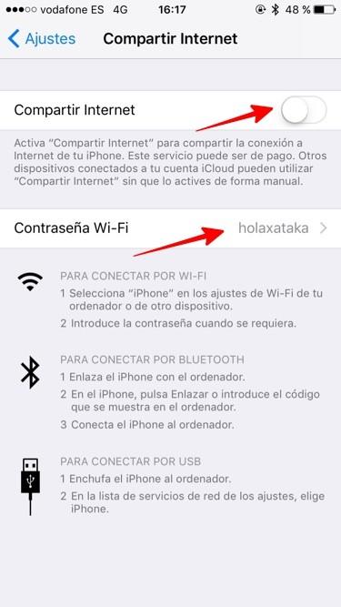 Compartir Internet