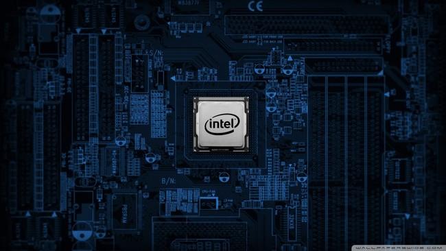 Intel Motherboard Wallpaper 1024x576