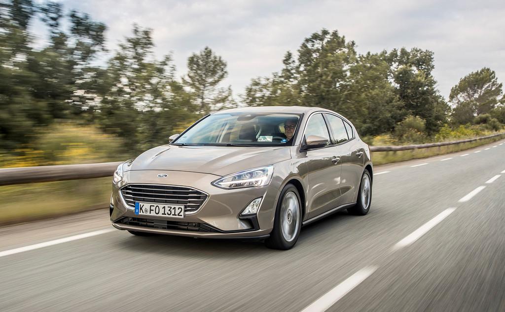Ford avisa sus primeros coches híbridos mild hybrid de 48 V basados en los superventas Ford Focus y Fiesta