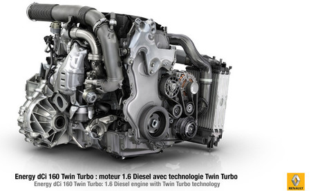 Nuevo motor Renault 1.6 Energy dCi 160 Twin Turbo