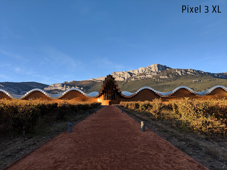 Pixel 3 Xl Dia Lejos Hdr Mejorado