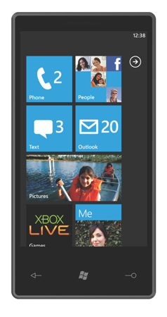 windows microsoft phone 7 series