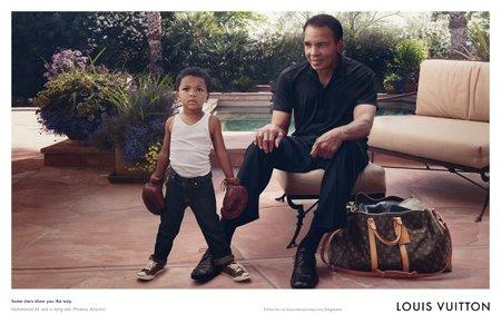 Muhammad Ali y Louis Vuitton, la unión de dos leyendas
