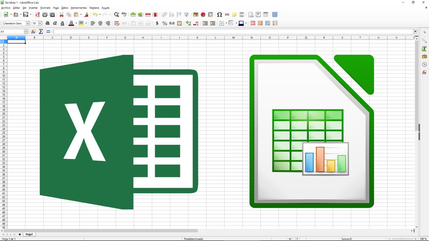 Que Diferencias Hay Entre Excel Y Libreoffice Calc Y Que Ofrece