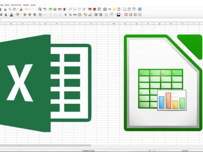 ¿Qué diferencias hay entre Excel y LibreOffice Calc y qué ofrece Google frente a ellas?