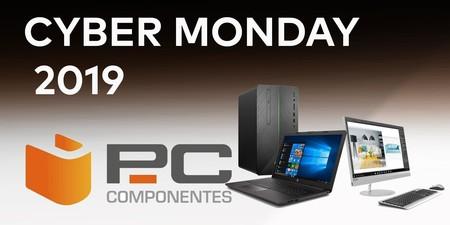 Las mejores ofertas del Cyber Monday 2019 en PcComponentes: portátiles HP, Lenovo o MSI, SSDs Western Digital o monitores ASUS a precios bajos