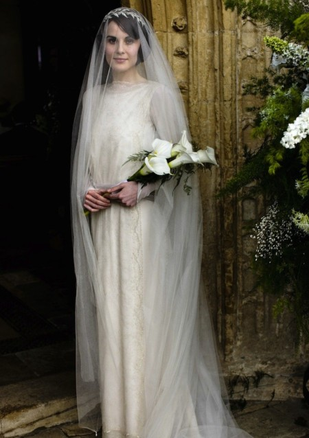 Downton Abbey vestido novia
