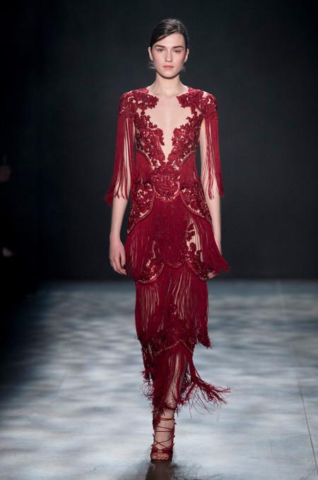 Marchesa trae los diseños más lujosos con su colección otoño-invierno 2017/2018