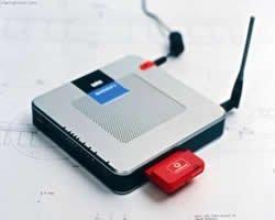 Router inálambrico UMTS de Vodafone