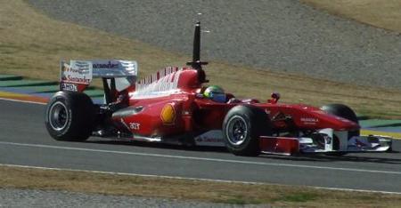 Felipe Massa vuelve a dominar en Cheste