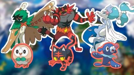 Los movimientos Z de los Pokémon iniciales y más Ultraentes en el nuevo tráiler de Pokémon Sol y Luna