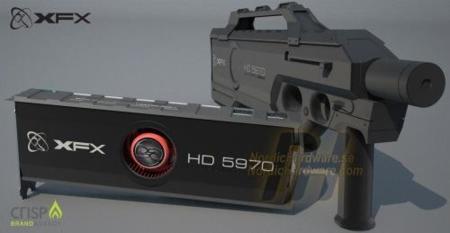 XFX ATi 5970 Eyefinity 6 en edición especial, limitada y cara, pero muy potente