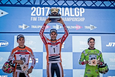 Podio Trial Gp Estados Unidos