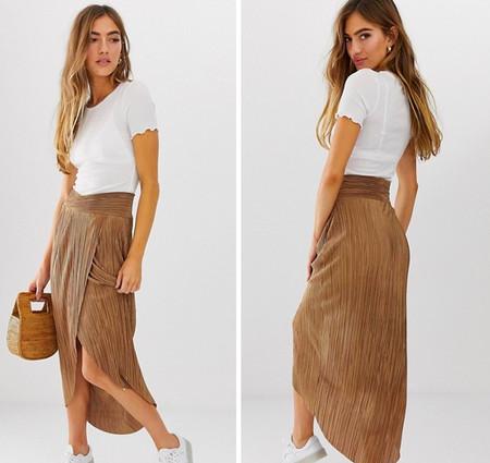 7ca96cb98 15 faldas plisadas perfectas para llevar de la ofi a cenar sin pasar ...