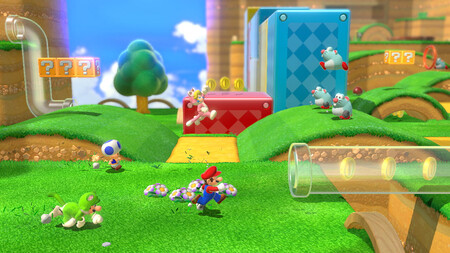 La versión de Wii U de Super Mario 3D World frente a la de Nintendo Switch en un vídeo comparativo dedicado a su rendimiento