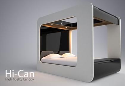 Hi-Can, una cama para no dormir