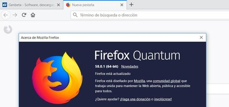 Actualiza ya Firefox 58 para parchear la vulnerabilidad que permite tomar el control del sistema