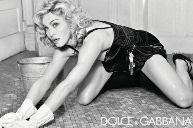 Madonna Dolce Gabbana 2010