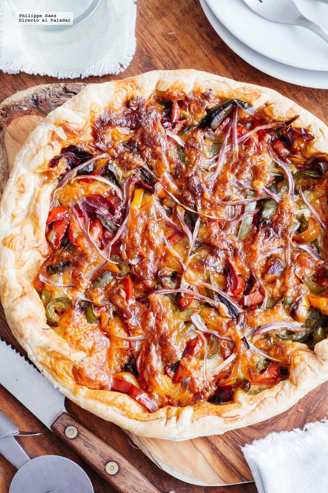 Tarta Pimiento Mozzarella
