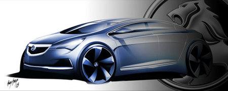 Boceto del nuevo compacto de Holden