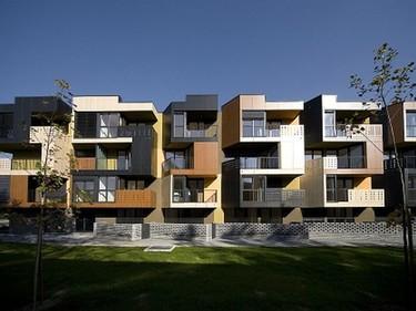 Apartamentos Tetris. Viviendas sostenibles en Eslovenia