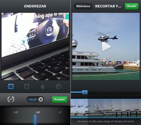 Instagram 4.1 nos permite importar vídeos y girar las imágenes