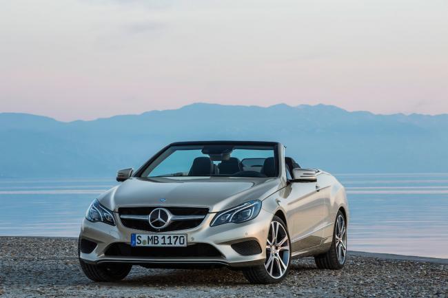 Mercedes-Benz Clase E Coupé y Cabrio 2013