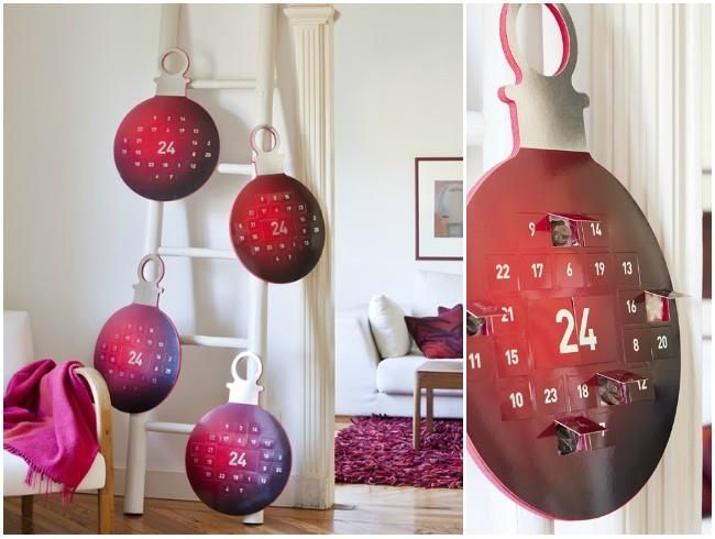 Deliciosos adornos navide os para amantes del chocolate - Calendarios navidenos personalizados ...