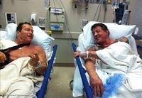 Schwarzenegger y Stallone en 'The Tomb'