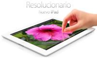 Nuevo iPad con pantalla Retina, brillante en todos los sentidos