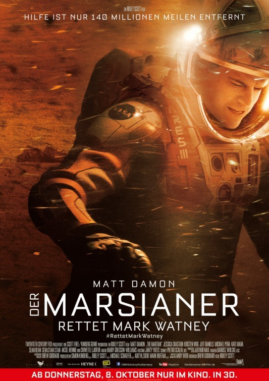 Foto de 'Marte (The Martian)', carteles (6/7)