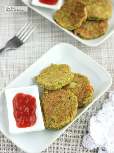 Nuggets de brócoli y queso. Receta