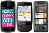Todos los precios con Vodafone del Nokia 5800, HTC touch 3G y XPERIA X1