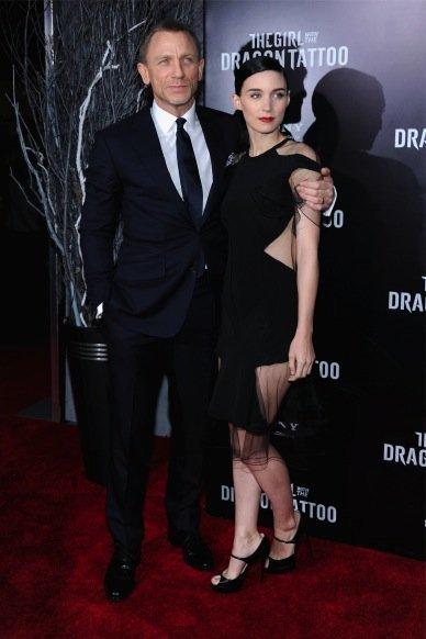 Daniel Craig y Rooney Mara