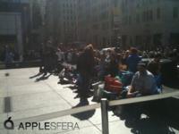 Desde Nueva York: Las primeras 20 personas en la cola, también llega la prensa [Especial lanzamiento iPad]