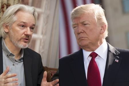 La defensa de Assange afirma que Trump ofreció indultarle si negaba la implicación rusa en la filtración de correos demócratas