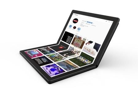 Este diseño en forma de patente demuestra que en Microsoft están empeñados en llevar a buen puerto las pantallas flexibles