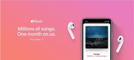 Apple Music 1 mes de prueba