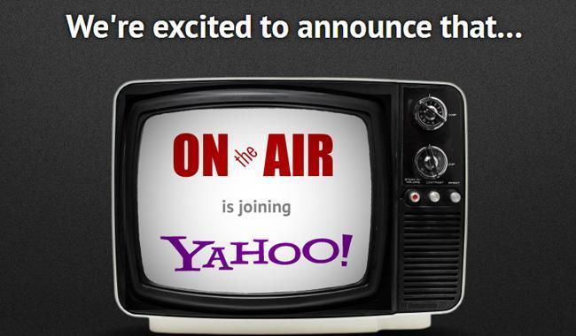 Yahoo compra OnTheAir