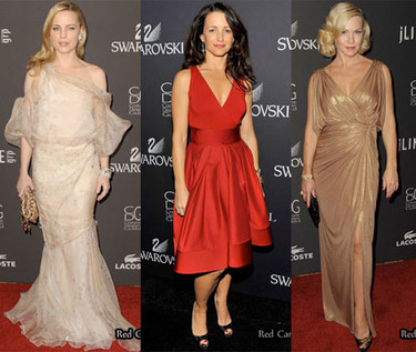 Las invitadas a los Custom Designers Guild Awards 2009