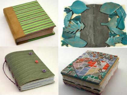 Diarios y cuadernos ecológicos y artesanales