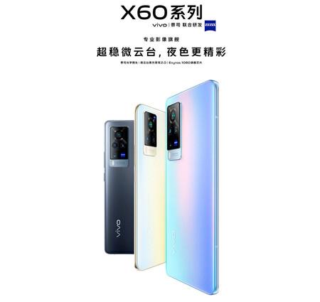 Vivo confirma la colaboración con Zeiss para las cámaras de los Vivo X60 y X60 Pro