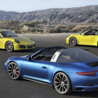 Porsche 911 Carrera 4 y 911 Targa 4 2016: los tracción total también se pasan al turbo